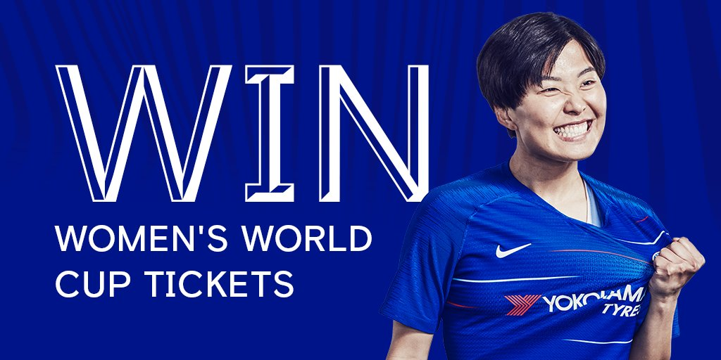 🎟️@FIFAWWC tickets up for grabs! Details 👉 che.lc/S9TxAb