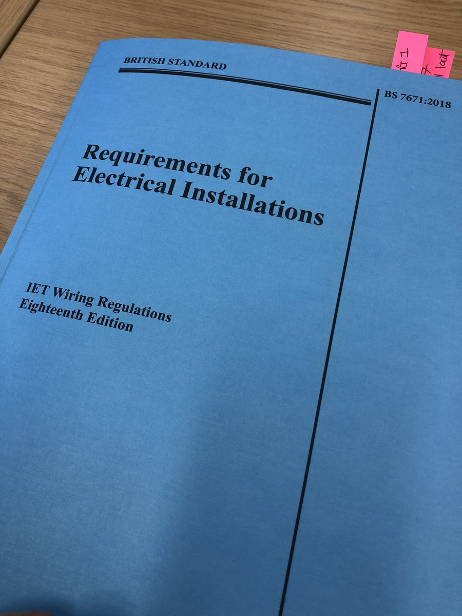 Ac Electrics Twitter Wiring Regulations Book 0 Replies 1 Retweet 10 Likes