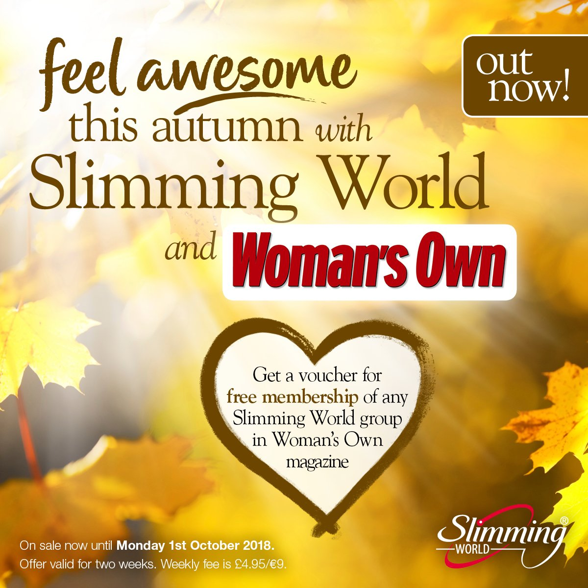 Pick up this week's Woman's Own (out today!) and grab your voucher for FREE membership to your local  group!