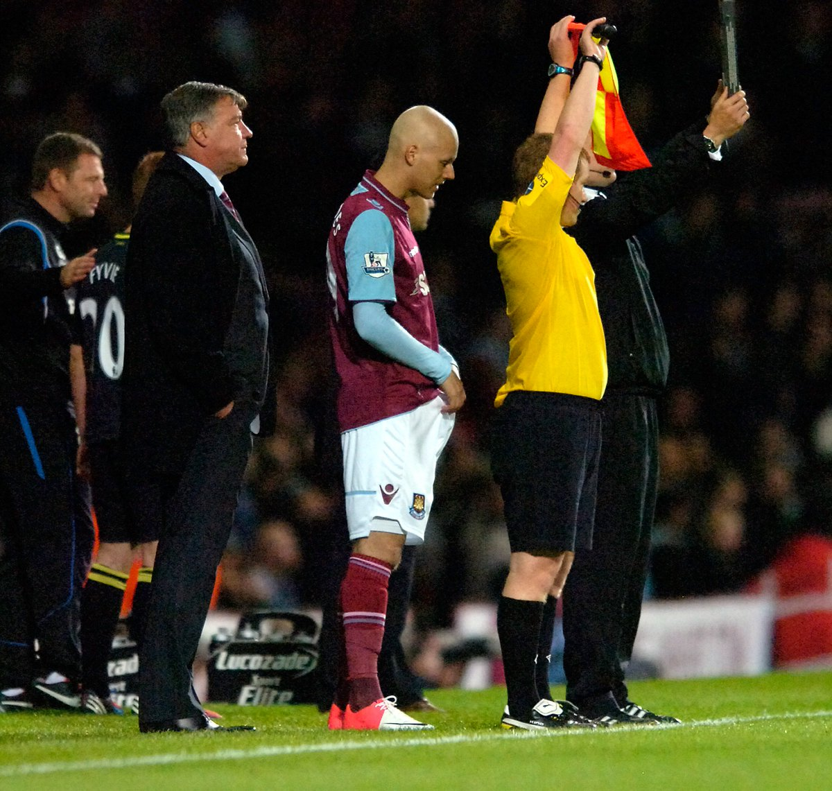 25 September 2012, West Ham United vs Wigan Athletic 84 Dylan Tombides comes on to make his debut for West Ham United. Six years ago today, a very special moment. RIP Dylan.