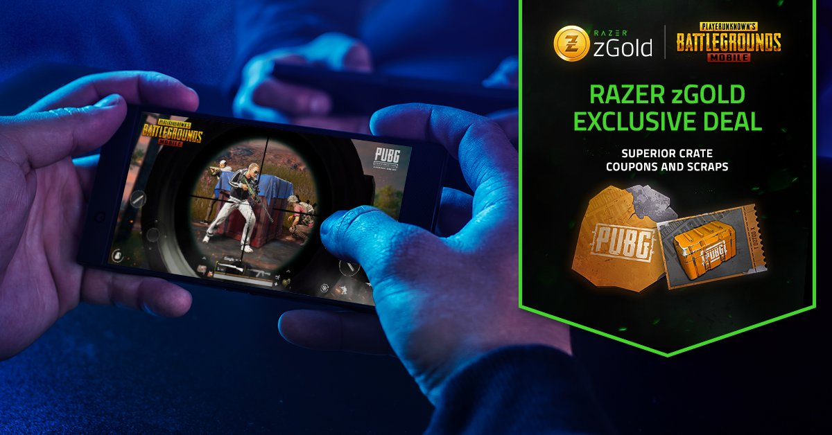Razer : Score exclusive superior crate coupons scraps UC Razer zGold