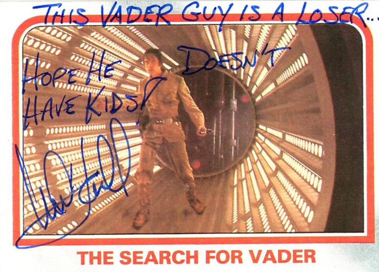 To mark @HamillHimselfs 67th birthday today, here's a small selection of the great man's funniest autographs. #StarWars 1/5