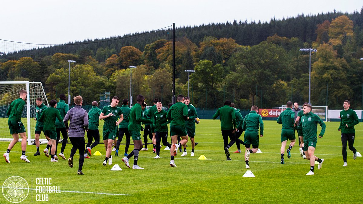 Getting ready for tomorrow night's trip to Perth 💪  #STJCEL #BetfredCup
