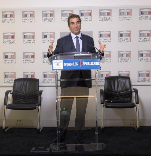 Christian Jacob a tenu ce matin une conférence de presse sur les grands sujets d\