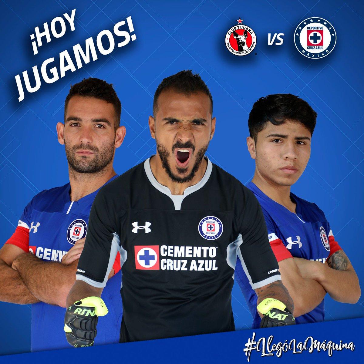 ¡Hoy juega La Máquina! Nuestro equipo visita a Tijuana en el estadio Caliente a las 21:15 HC, en los Octavos de Final de la Copa MX. #LlegóLaMáquina