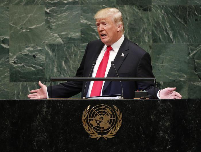 #Trump parla all'#ONU: 'Isolare l'Iran, diffonde il caos in Medio Oriente'. Apre il suo discorso così: 'Ho fatto più di tutti prima di me', e l'Assemblea ride (video) → https://t.co/NChiU9Cjsz