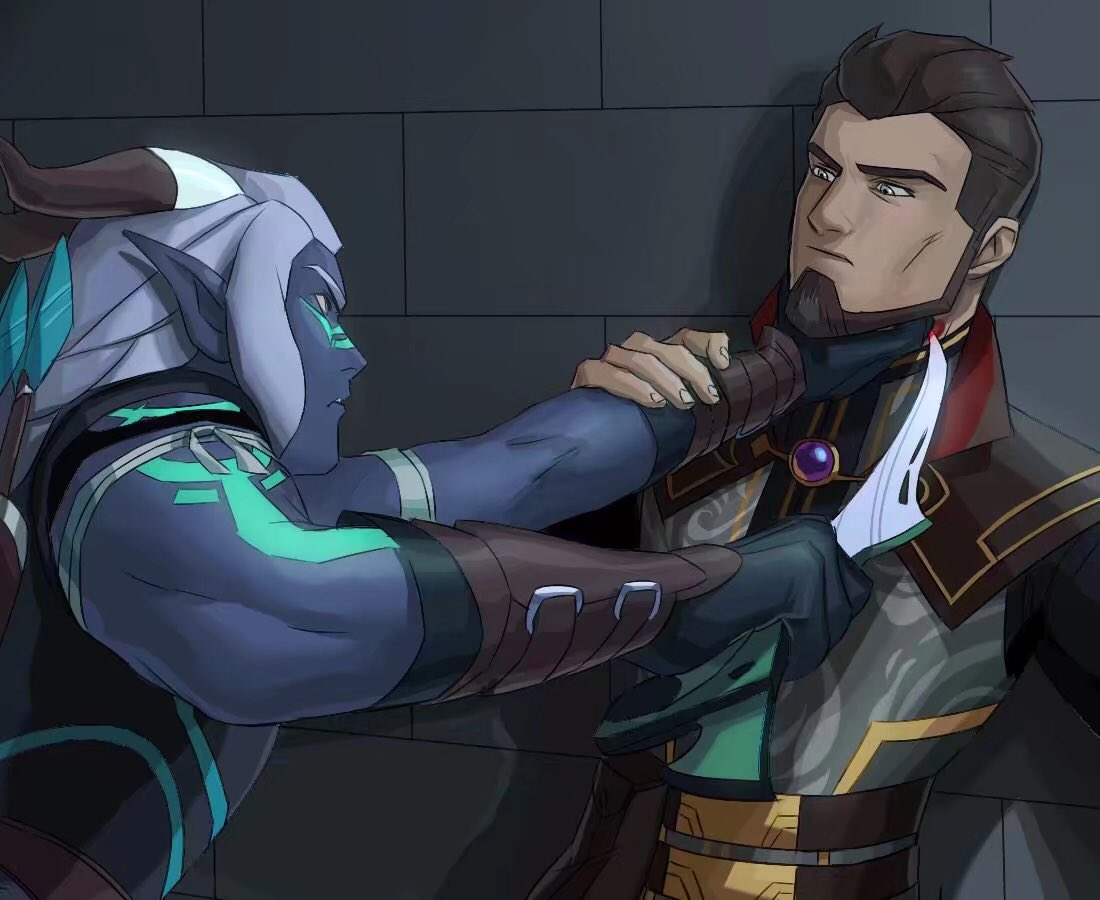 The dragon Prince 2018 Viren x reader Lemon Blue