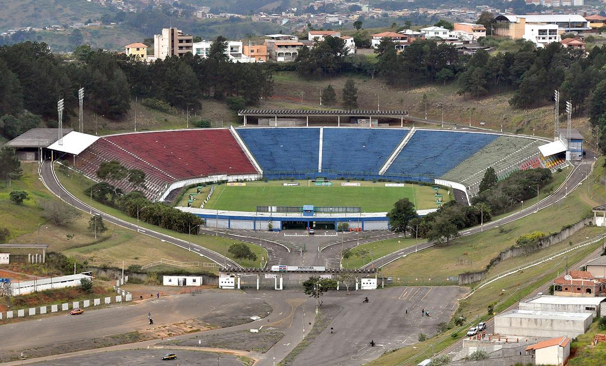 Estádio Helenão, casa do Tupi de Juiz de Fora.