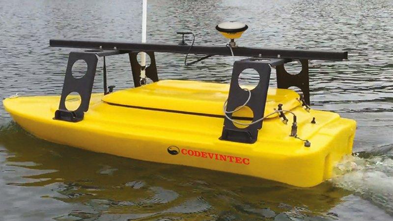 #Innovazione > EchoBoat, il più versatile #Drone acquatico per indagini #idrografiche > Specifico per rilievi in #porti o acque interne https://goo.gl/FswGbz  - Ukustom