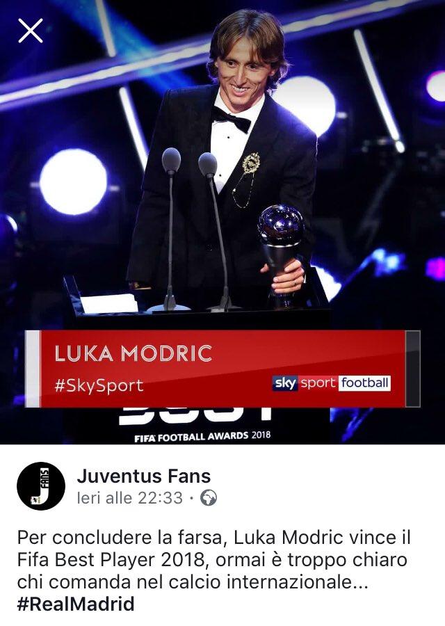 Ecco perché non vinceranno mai una #ChampionsLeague. #Modric  - Ukustom