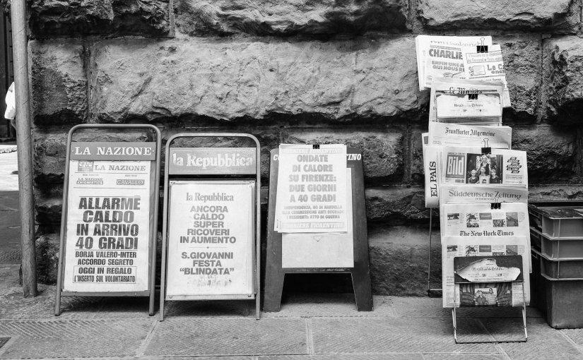 Come vendere #giornali? Mercati, merci, giornalismo, news e perché queste parole hanno relazioni e differenze, che dovrebbero essere esplorate.  http:// www.minimarketing.it/2018/09/come-vendere-giornali.html @gluca  - Ukustom