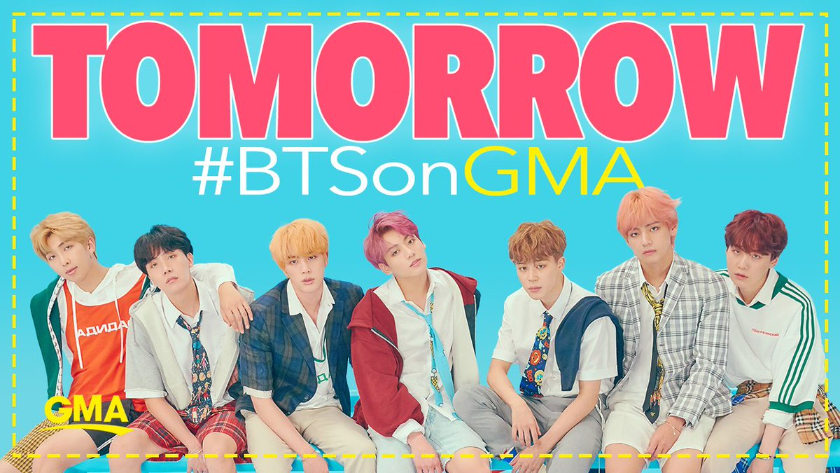 LESS THAN 24 HOURS until @BTS_twt is in Times Square!  RT if you'll be watching!   #BTSonGMA #BTS #BTSARMY