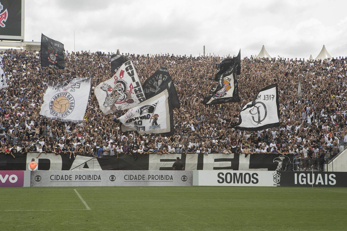 Hoje nós temos mais uma festa marcada com vocês na @A_Corinthians! Bom dia, #Fiel!  📸 Daniel Augusto Jr/ Agência Corinthians  #VaiCorinthians #AFielÉFoda