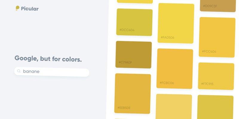 #Picular : le #Google des couleurs qui va changer la vie des graphistes https://t.co/Yn6vAhB936 via @creapills