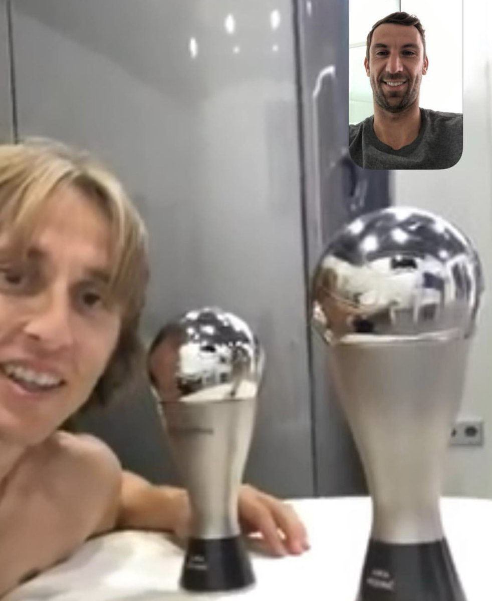 .@lukamodric10, you are #TheBest 👏🏼  #Modric ➕ #Srna = 🤩🇭🇷