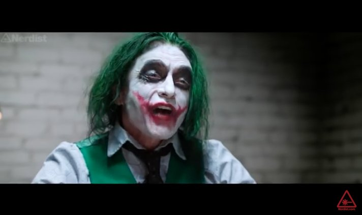 #TheRoom star @TommyWiseau is The Joker you never asked for…