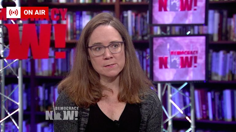 Journalist Marcy Wheeler (@emptywheel) responds to the possibility of Rod Rosenstein's firing, on-air now: 'I think once Mueller got Paul Manafort's testimony locked in… to some degree, it was too late for Trump to completely undermine this investigation'