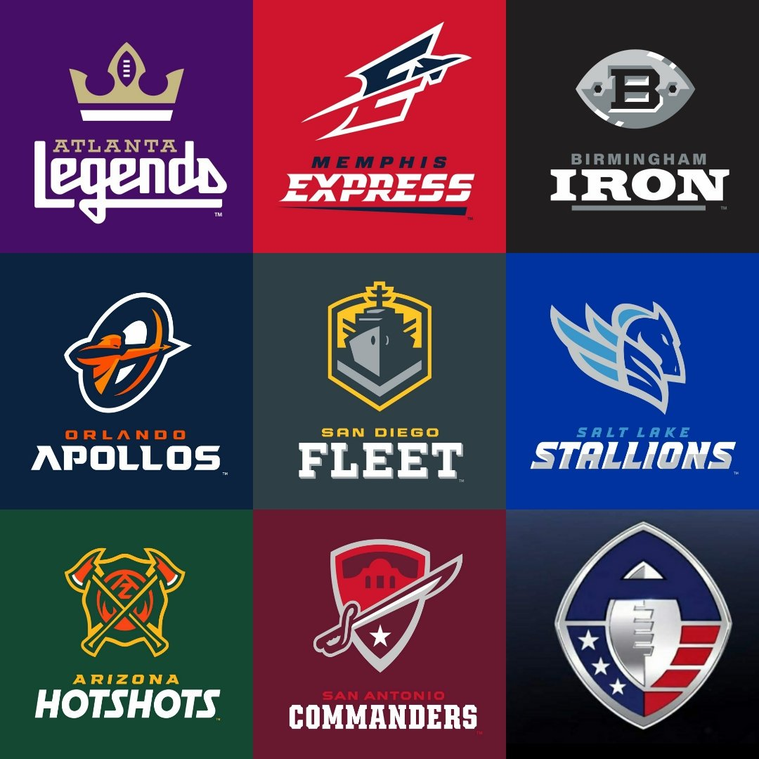 Image result for aaf football logos