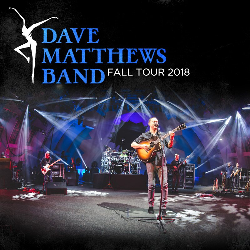 DMB is excited to announce a 12-city arena tour kicking off on Nov 27 in Columbus, OH. The east coast trek will include a two-night stand at NY's famed @TheGarden on Nov 29 & 30 as well as 2 hometown shows in CVille, VA on Dec 14 & 15: tour.davematthewsband.com #DMB20