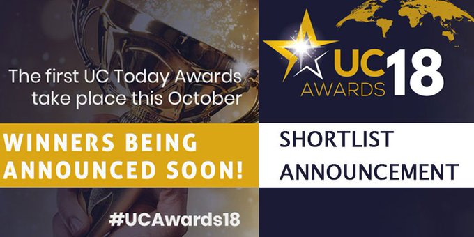 🎉We are happy to announce that Unify is shortlisted in #UCawards18 for Best CX...
