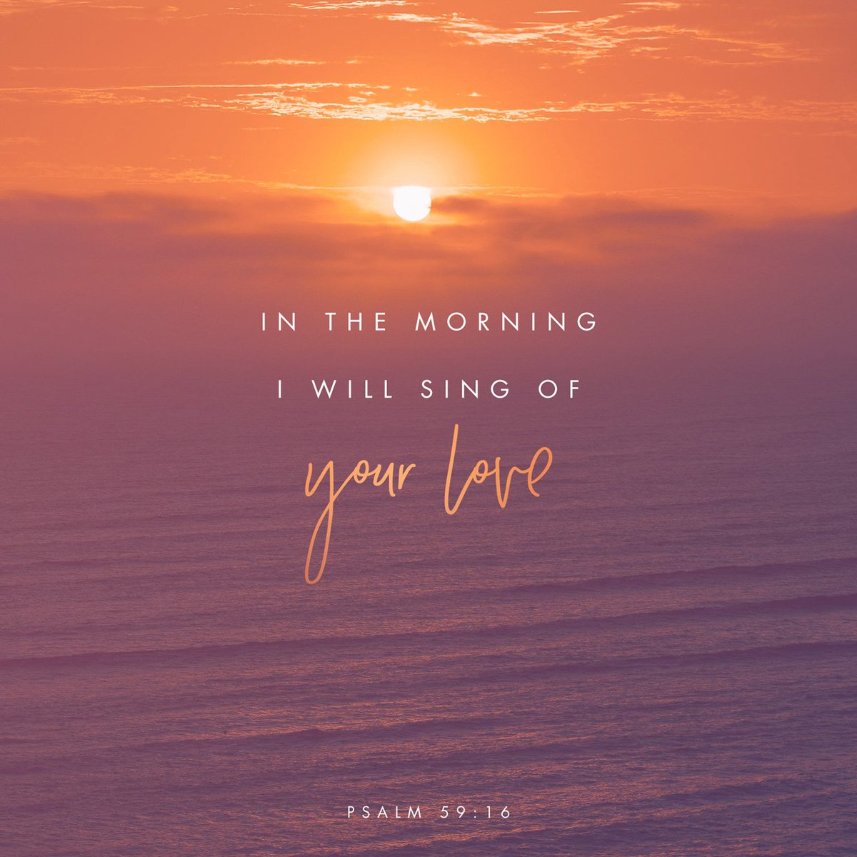But I will sing of thy power; yea, I will sing aloud of thy mercy in the morning...Ps 59:16 #TuesdayThoughts