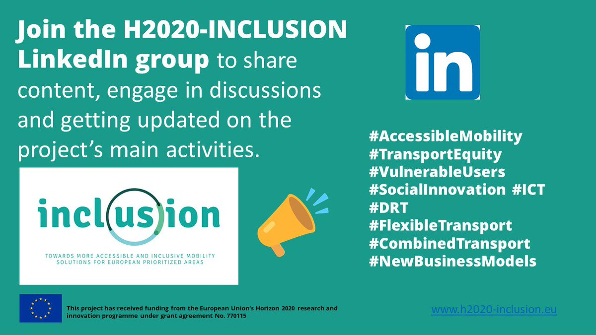 H2020 Inclusion H2020inclusion Twitter