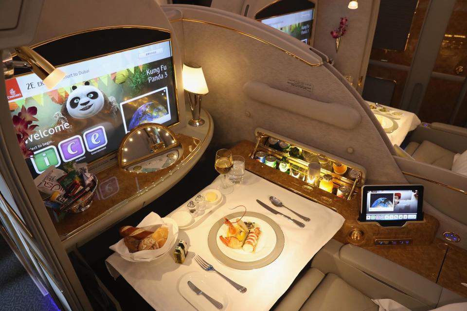 Это не вилла. Просто самолет «Реала».  📷 инстаграм Emirates