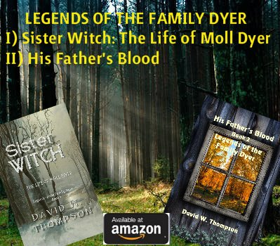 How far would you go to save your family? The original #WitchHunt series inspired by a true story 300 years in the making! Moll Dyer IS #MollMania-the accused witch who started it all. A multi-award series-see why here: amazon.com/David-W.-Thomp… Free on KU @Solsticepublish #IARTG