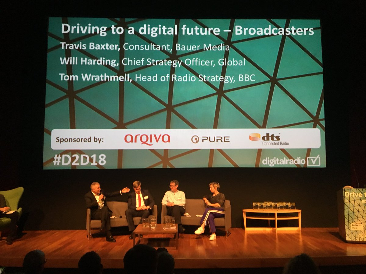 Travis Baxter from Bauer says digital radio - and we'd say especially podcasts - helps promote diversity of voices and creativity #D2D18