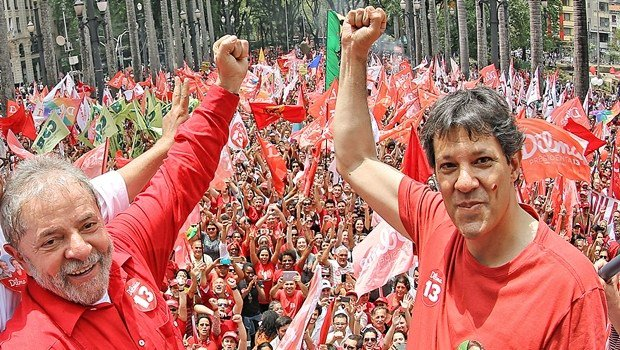"""Haddad me representa"", diz Lula por carta https://t.co/jyG2QITMLt"