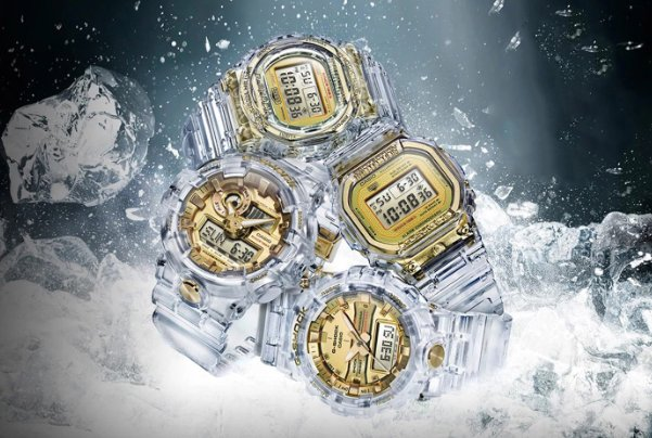 befa2e650351 casio g shock gears up for 35th anniversary skeleton gold collection gshock  skeletongold