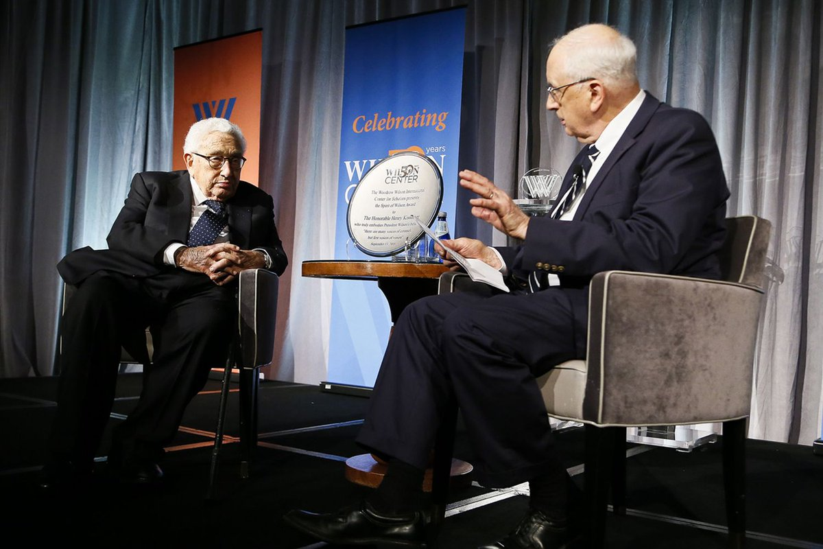.@KissingerInst hosted a conversation between former U.S. secretary of state Henry Kissinger and Ambassador J. Stapleton Roy about Sino-U.S. relations.   Read their conversation here: https://t.co/uu0OSh1U93