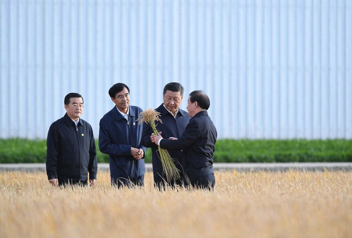 Chinese President Xi Jinping starts an inspection tour in northeast China's Heilongjiang on Tuesday