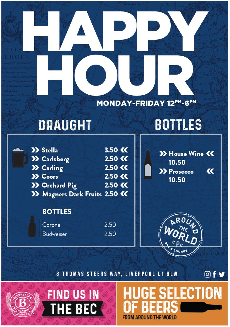 Its Tuesday - its getting closer to the weekend yknow? Celebrate happy hours with us until 6PM, people! #BizHour #TuesdayThoughts