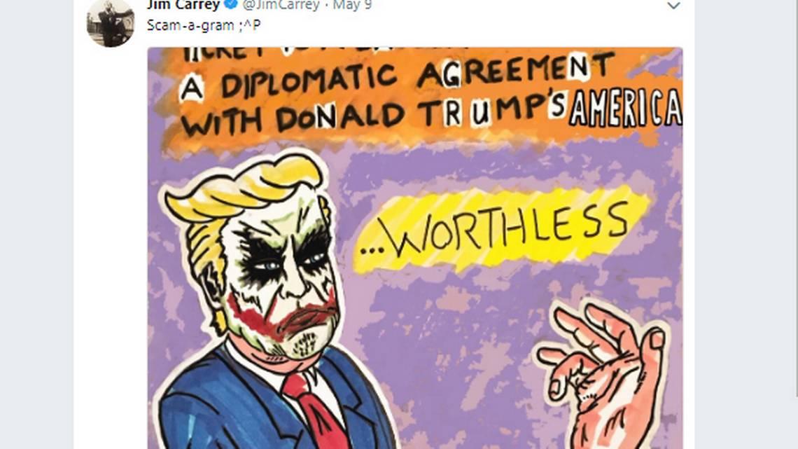 #JimCarrey expondrá en Los Ángeles sus dibujos y caricaturas de #DonaldTrump  https://t.co/PXmMEvuJnT