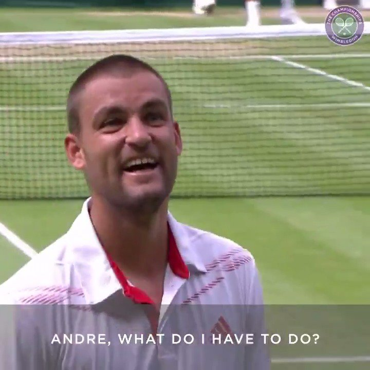 A lesson from Mikhail Youzhny's magnificent career: never be afraid to ask for advice. Even from the Royal Box ☺️