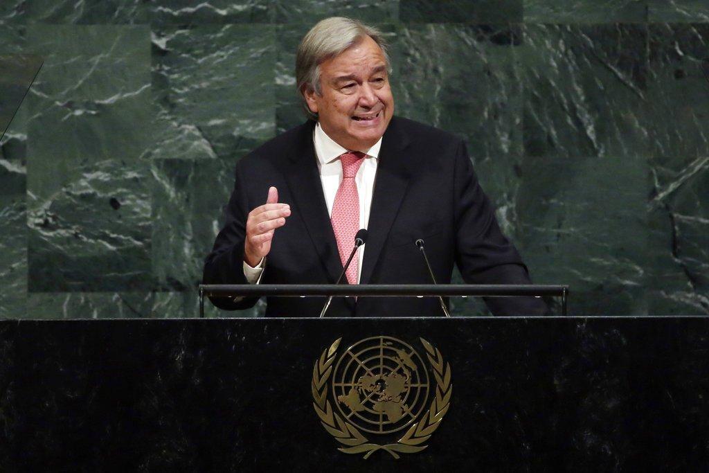 Il segretario generale dell'#ONU Antonio Guterres, aprendo i dibattiti della 73esima Assemblea generale delle Nazioni unite, ha lanciato un monito contro l'ascesa del #populismo → https://t.co/GrlV6c1zla