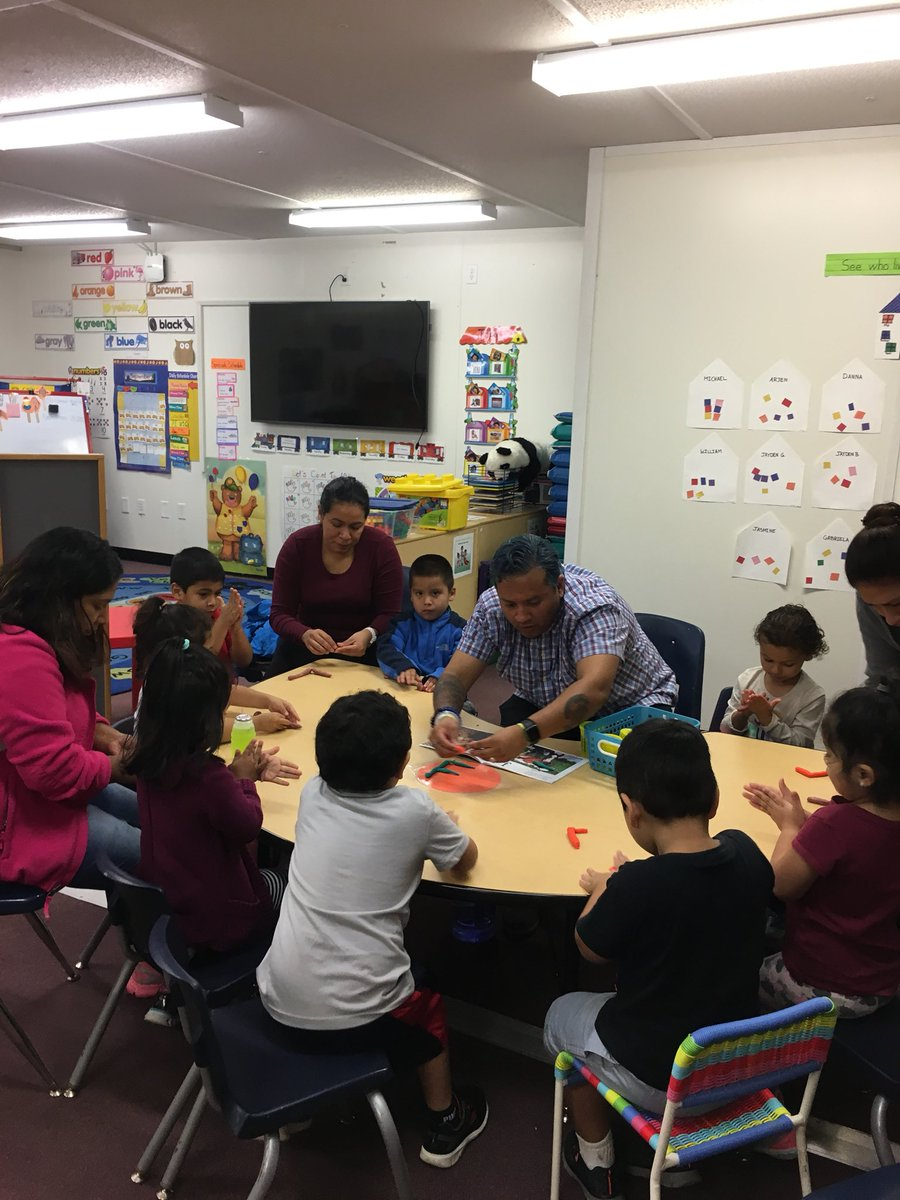 Learning breakfast for our PreK parents and students! Thank you to all who attended! <a target='_blank' href='https://t.co/theKAICNAp'>https://t.co/theKAICNAp</a>
