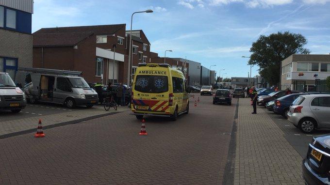 In Naaldwijk twee ongelukken auto/fietser aan de Industriestraat waarvan een met letsel. https://t.co/YUNHuBktFC