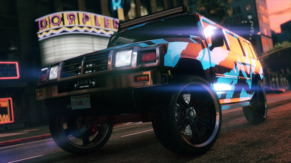 This Week in GTA Online:  • Get Double GTA$ & RP in any Freemode Business Battle • The Mammoth Patriot & Chariot Romero Hearse are available to purchase • 30% Off The Overflod Tyrant Supercar and more  Details: https://t.co/DfDtq7rGpa