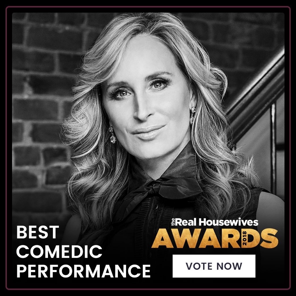 Proud to be nominated for the #Bravotv awards #comedy category   Love to make u laugh #rhony Vote here https://t.co/TgRFOpjiHd @RealityTVBliss @housewifegifs @AllCelebPolls @realhousehomo @BravoRHONY @Realitytea @vulture @bitch_sesh