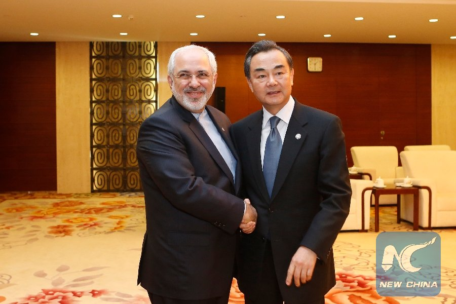 Chinese, Iranian FMs discuss bilateral commitment to international deal on Iran's nuke issue https://t.co/62ooPU9WLA