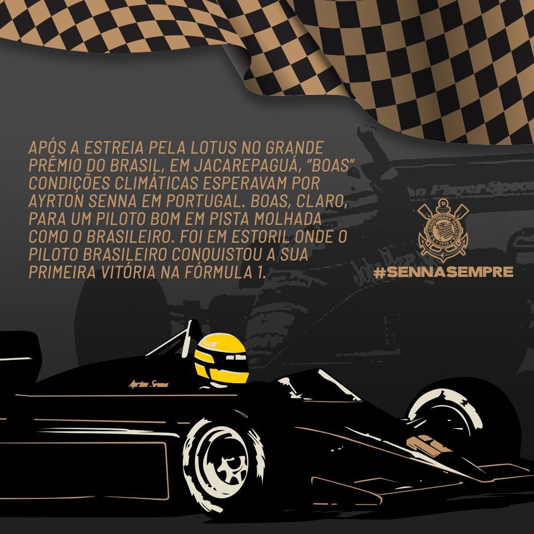 Inúmeros momentos marcaram a carreira de Ayrton Senna na Fórmula 1. Relembre três destes acontecimentos inesquecíveis!  #SennaSempre #VaiCorinthians