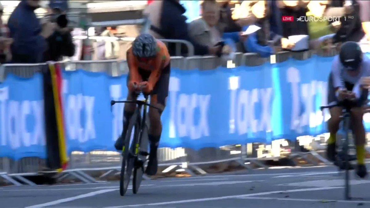 Wk wielrennen: Goud, zilver en brons voor Nederland