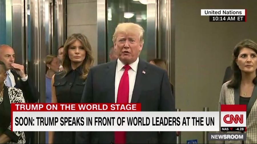 President Trump says Iran wants to meet with him but its leaders have to 'change their tune' first. Follow live updates from the UN General Assembly: https://t.co/dqxmraXP4F