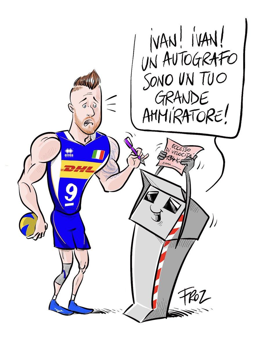 Dedicata allo zar @zaytsev ed ai mitici @pbignoranti . #zaytsev #volleymondiali2018 #pallavolo #froz  - Ukustom