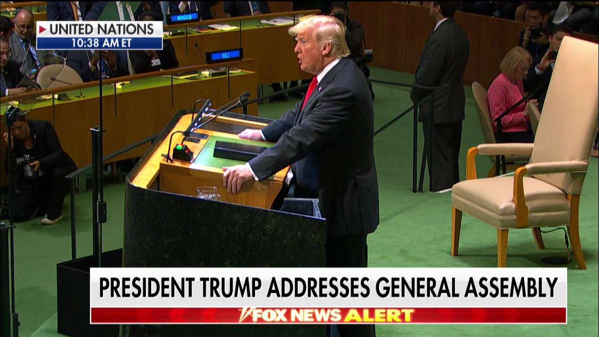 .@POTUS Addresses General Assmebly #UNGA
