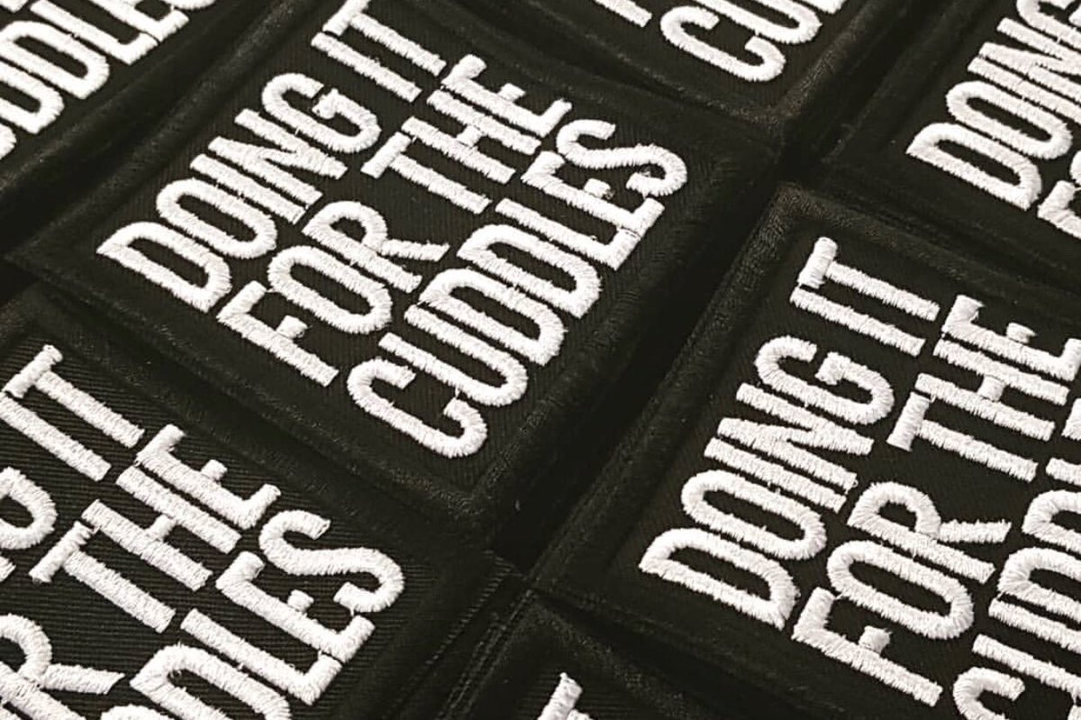 RT @DIFTCuddles Our new patches are on sale now hit the link to buy yours https://t.co/WX6bqSqzIZ
