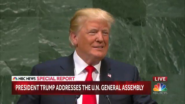 Trump Bragged About His 'Accomplishments' and the U.N. General Assembly Cracked Up