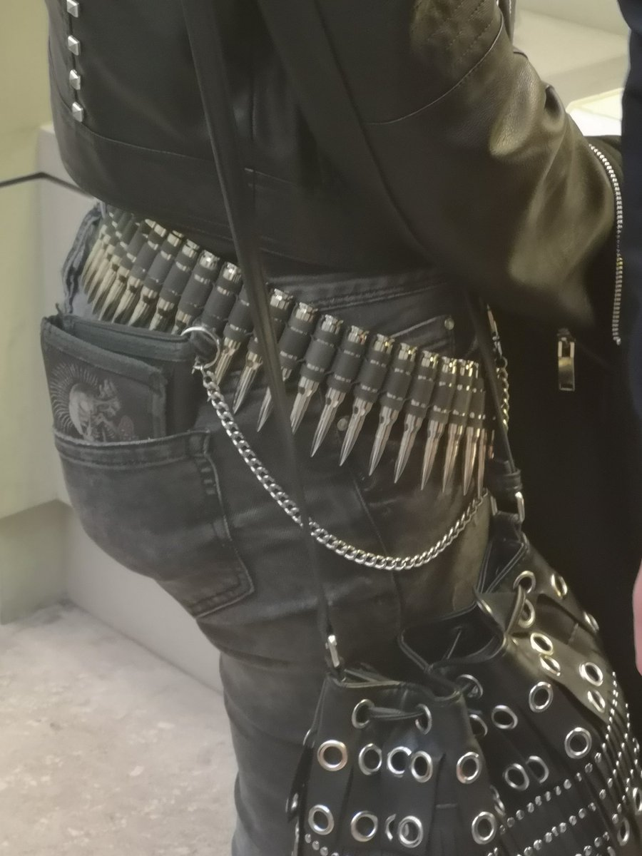 Spotted perhaps the worst taste belt I've ever seen in my life. What would make someone think this is appropriate garb to wear? Tasteless